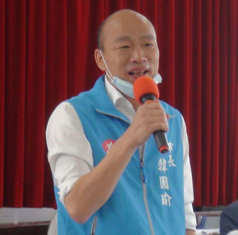 高雄市長韓國瑜藉聽取各局處業務報告,進一步凝聚市府團隊對高雄「國際化」的共識。圖/本報資料照片
