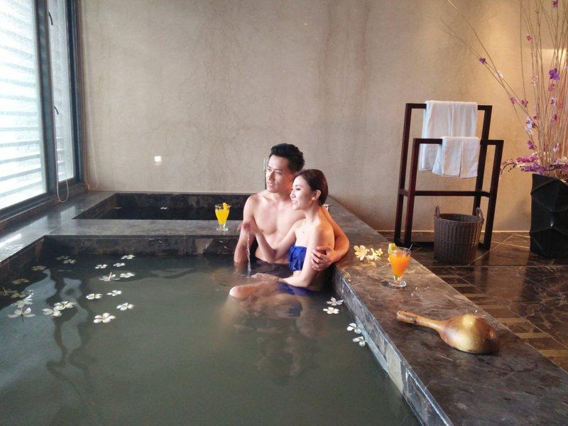 台中市觀光旅遊局推藨台中泡湯,有優惠措施。圖/台中市觀旅局提供