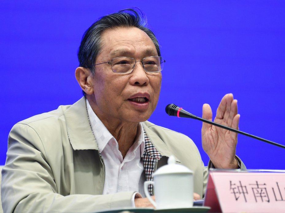 鍾南山推斷:中國大陸沒有大量「無症狀感染者」。新華社