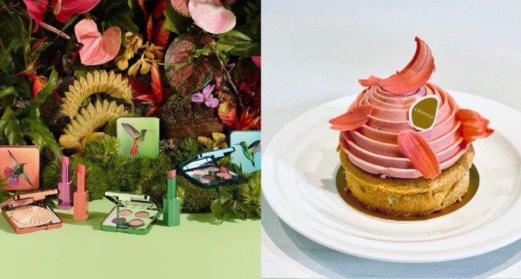 香緹卡與知名精品法式甜點甜點店穿石CHANTEZ Pâtisserie合作,以...