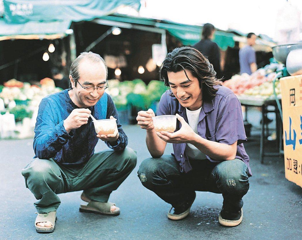志村健曾和金城武聯手推廣台灣觀光。 圖/福隆提供
