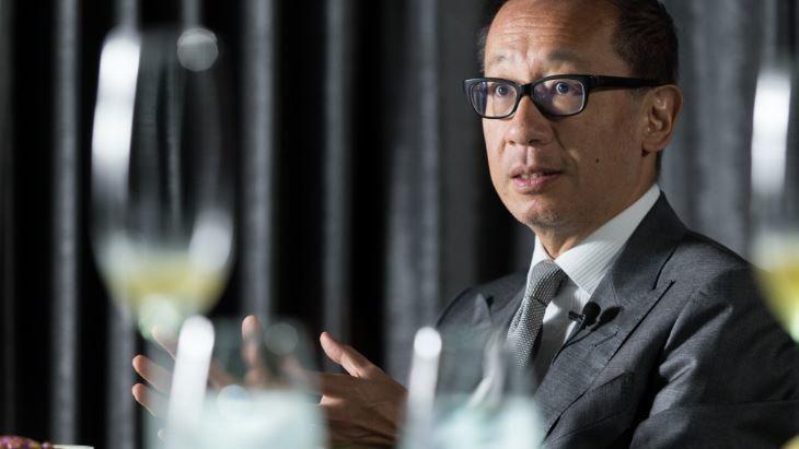 晶華酒店董事長潘思亮。 記者陳立凱/攝影
