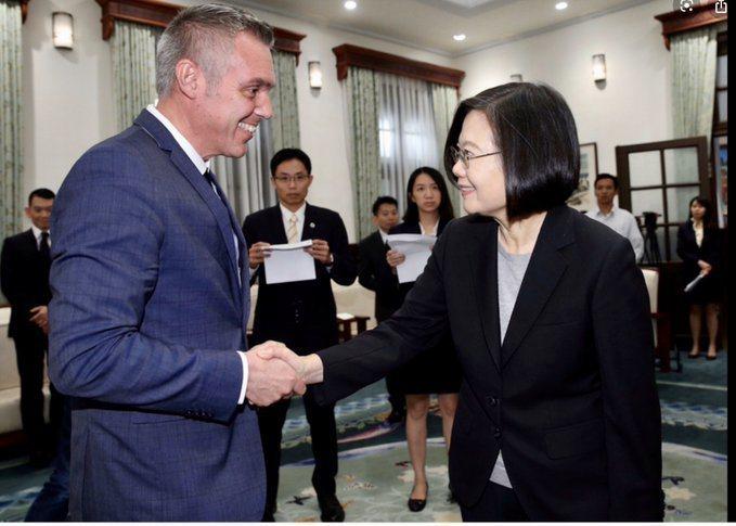 法國國民議會友台小組主席賽沙里尼因罹癌不幸病逝,他與台灣關係密切,並曾多次造訪台灣。 圖片來源/「twitter」網站