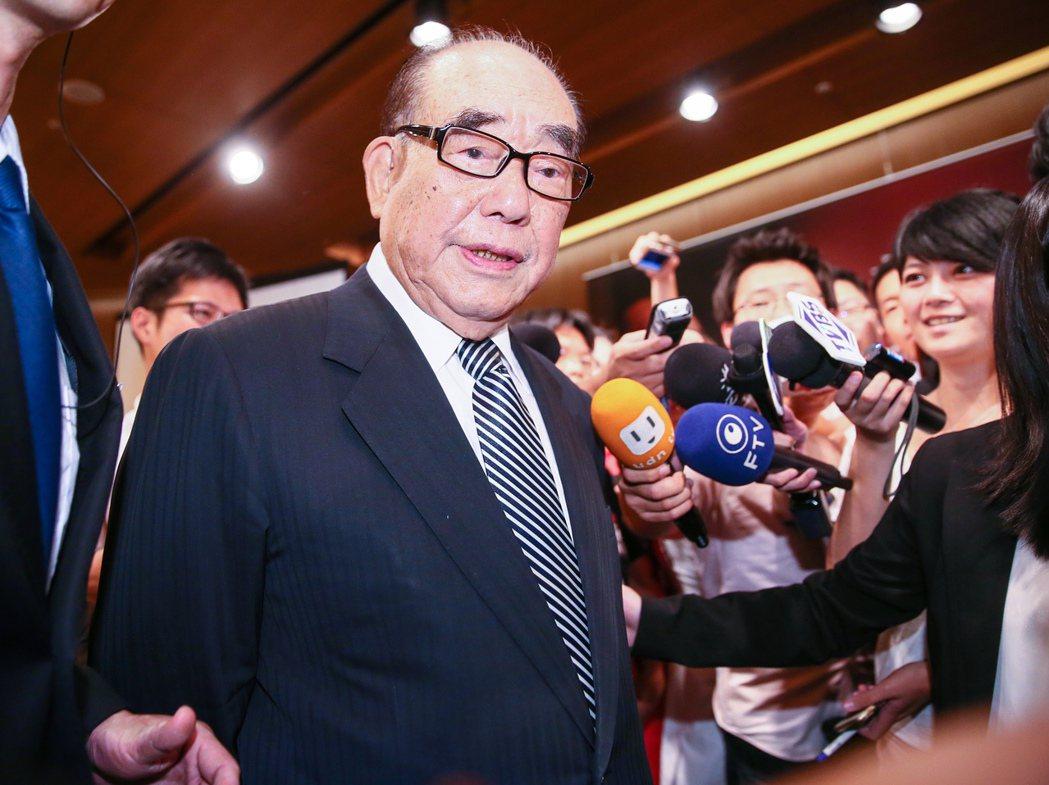 行政院前院長郝柏村逝世,享壽101歲。 圖/聯合報系資料照