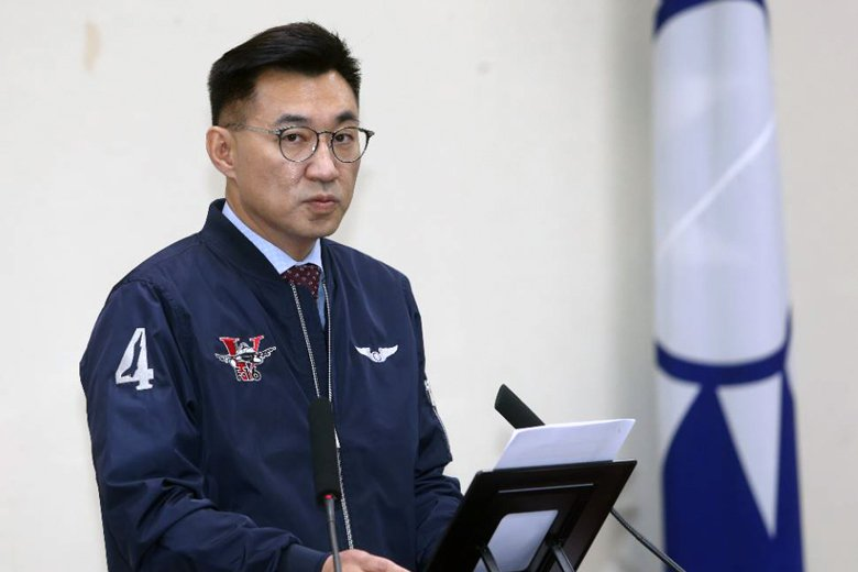 國民黨黨主席江啟臣。 圖/聯合報系資料照