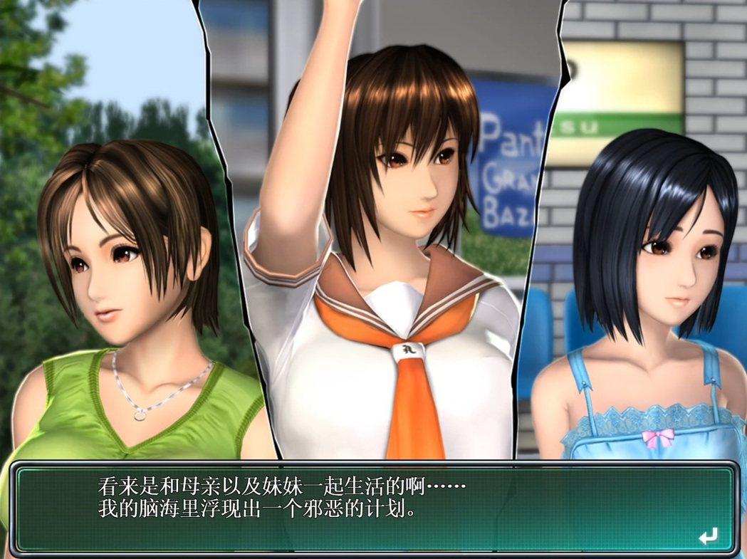 《電車之狼R》簡單的讓三位女主角出場後,就直接進入正戲。