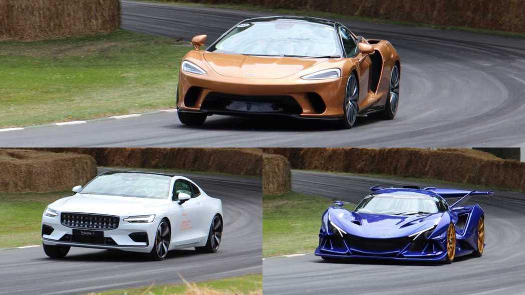 各式各樣新車都會在Goodwood Festival of Speed現身。 摘...