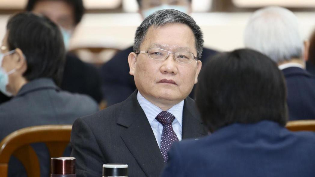 財政部長蘇建榮。 記者林伯東/攝影