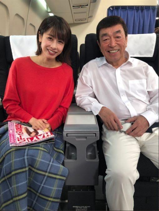 志村健與加藤綾子曾談過父女戀。圖/摘自推特