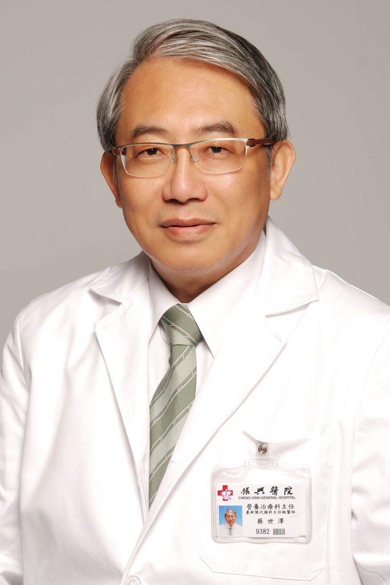 糖尿病關懷基金會董事兼執行長蔡世澤圖/蔡世澤提供