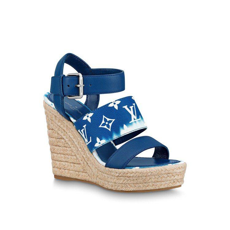 LV Escale楔型鞋,售價31,700元。圖/LV提供