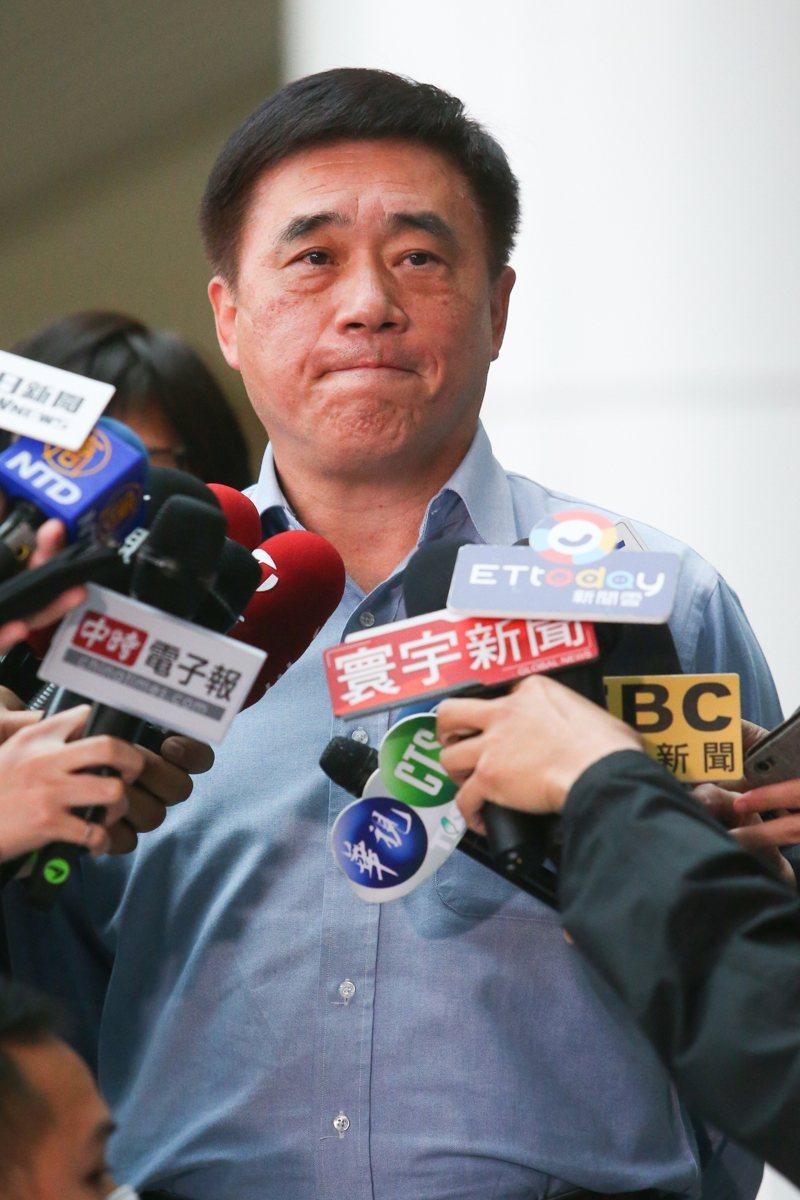 國民黨前副主席郝龍斌。記者葉信菉/攝影