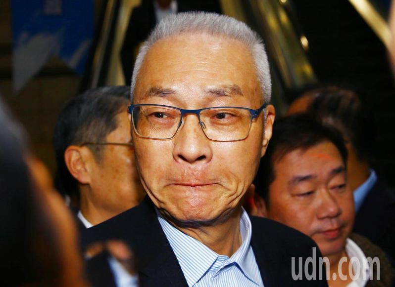 國民黨前主席吳敦義。本報資料照片