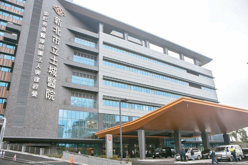 新北土城醫院規劃39個醫療專科,是總床數達1058床的教學級綜合醫院,將在4月23日試營運。 記者王敏旭/攝影