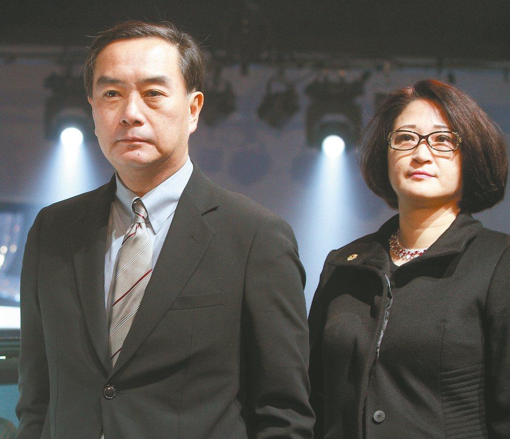 裕隆集團執行長嚴陳莉蓮(右) 本報系資料庫