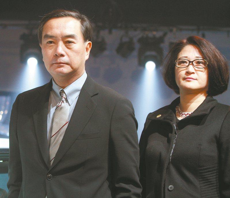 裕隆集團執行長嚴陳莉蓮(右)。 本報系資料庫