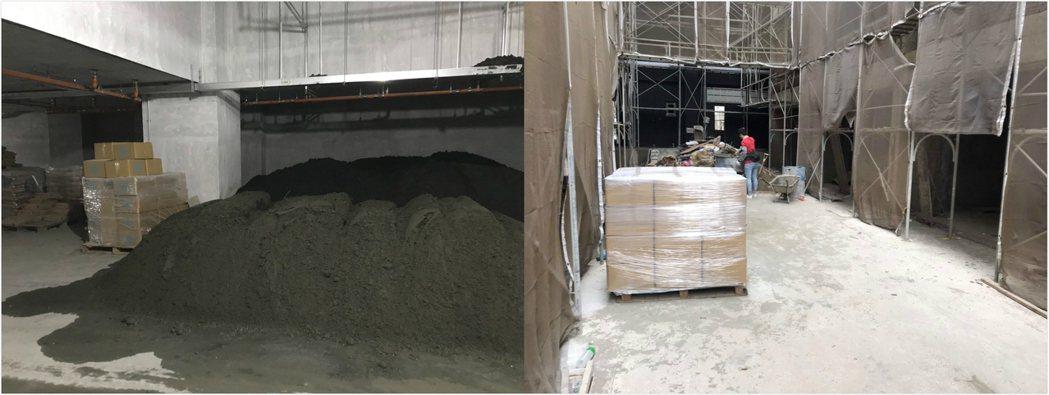 使用樂土防水粉的新建案。