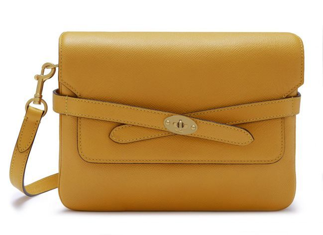 Belted Bayswater Satchel Small Printed G...