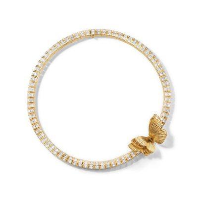 Tiffany Jewel Box 高級珠寶系列Flight主題18K金鑲嵌總重...