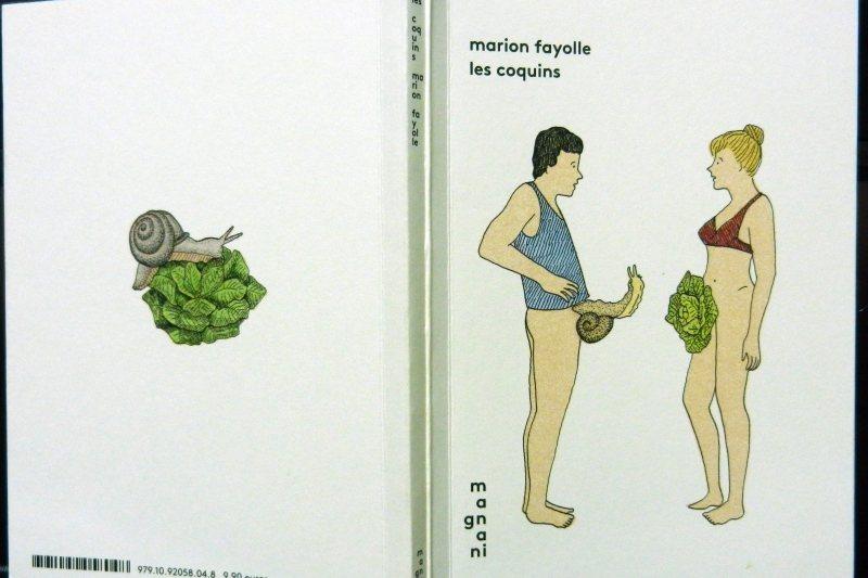 法國新一代女插畫家瑪麗昂.法洛爾於2016年出版的情色畫集Les coquins。 圖/作者提供