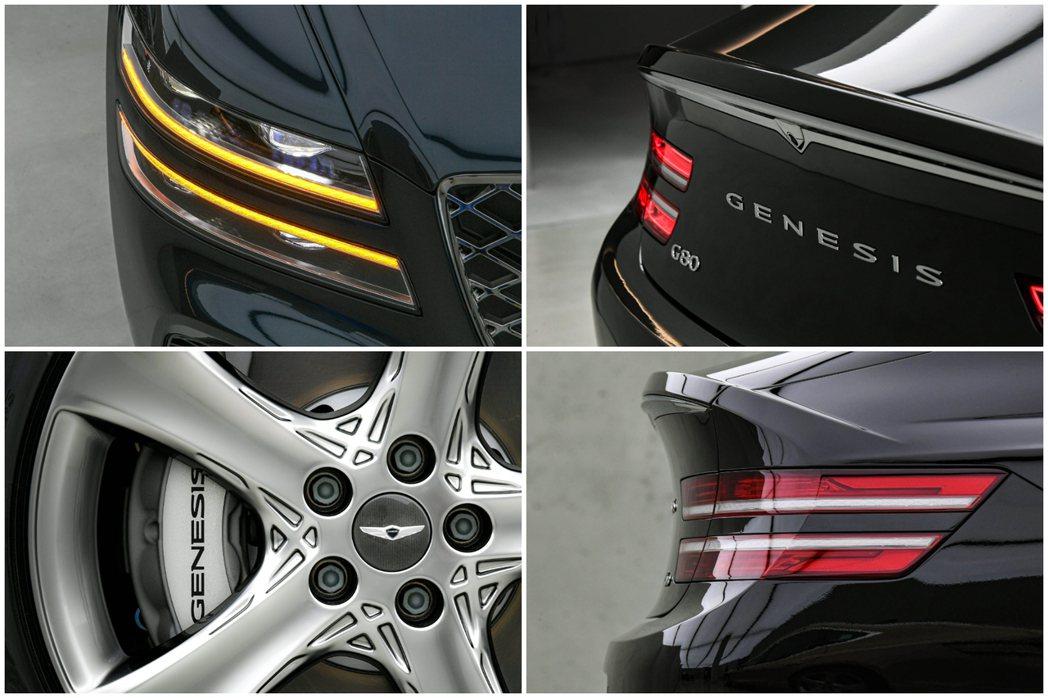 全新第三代Genesis G80外觀特色。 摘自Hyundai