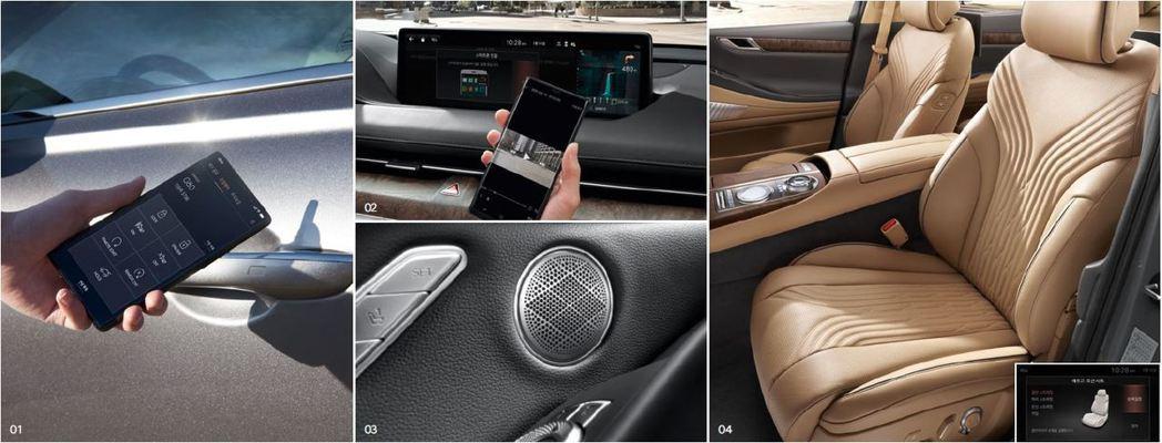 全新第三代Genesis G80也配置了Digital Key智慧型手機數位鑰匙...