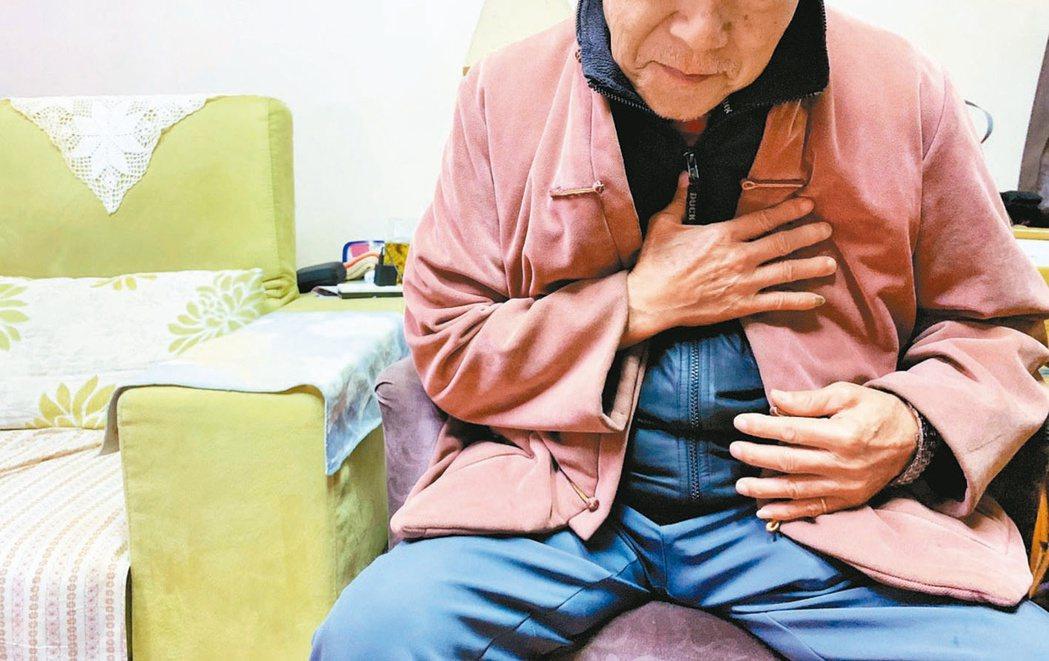 年長者易把心臟衰竭的徵狀,誤為正常老化或忽視,因而耽誤黃金就醫時間。 圖/本報系...