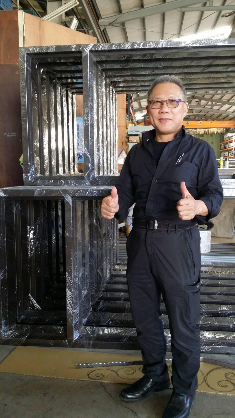龍鋐企業有限公司總經理姜智耀 李妮育/攝影。