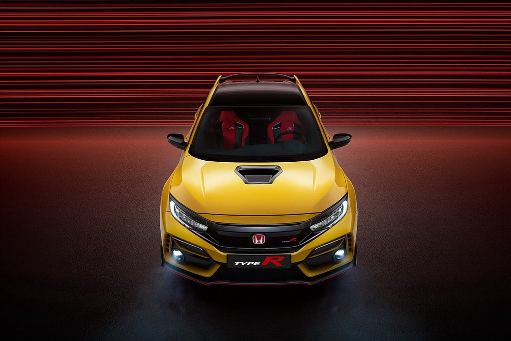 全球限量發售的Honda Civic Type R Limited Editio...
