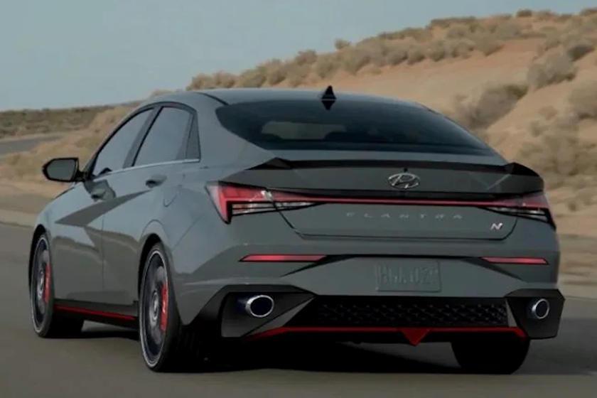 Hyundai Elantra N預想圖。 摘自carbuzz.com