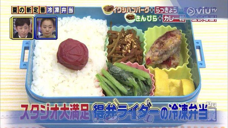 由「厲害飯盒騎士」親自製作的四種冷凍配菜便當!圖/生活小貼士