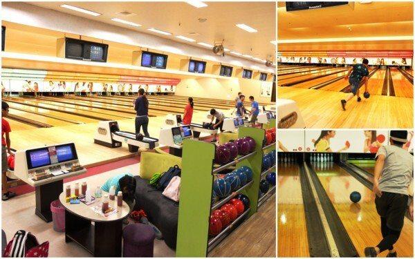 ▲館內保齡球設施共26個球道,場地新穎,設備維護用心。
