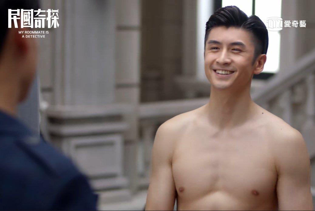 張雲龍露出結實胸肌。圖/愛奇藝台灣站提供