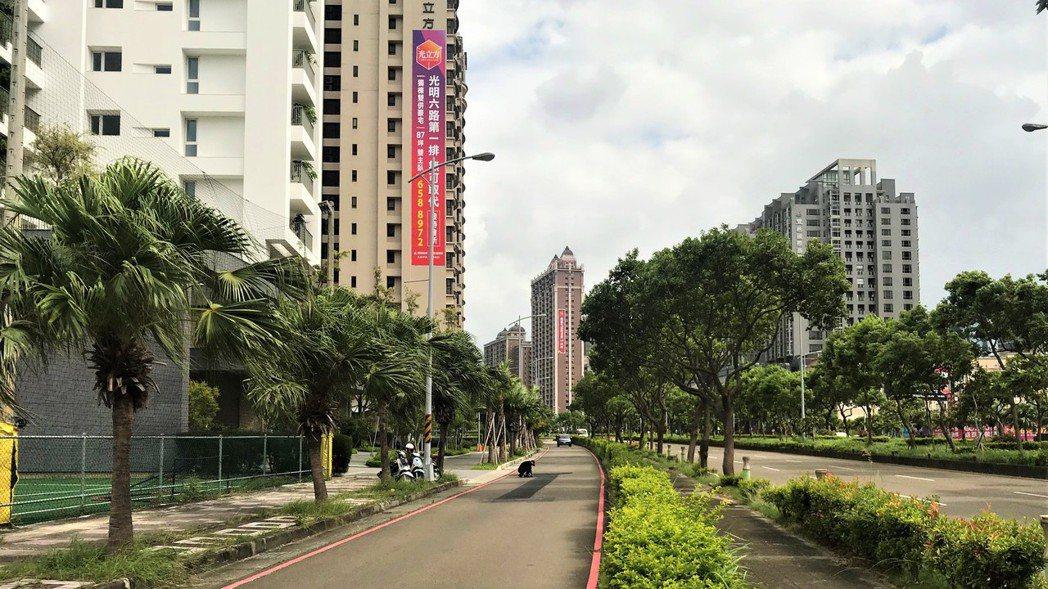 竹北房市。報系資料照