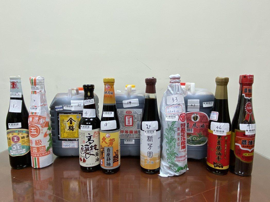 消保處今(31)日公布「108年度市售釀造醬油品質檢驗暨標示查核結果」,共抽樣5...
