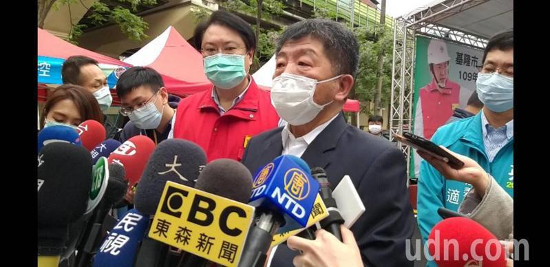 中央流行疫情指揮中心指揮官陳時中今在基隆表示,為了防疫,社交距離相關規定今天就會公布記者邱瑞杰/攝影