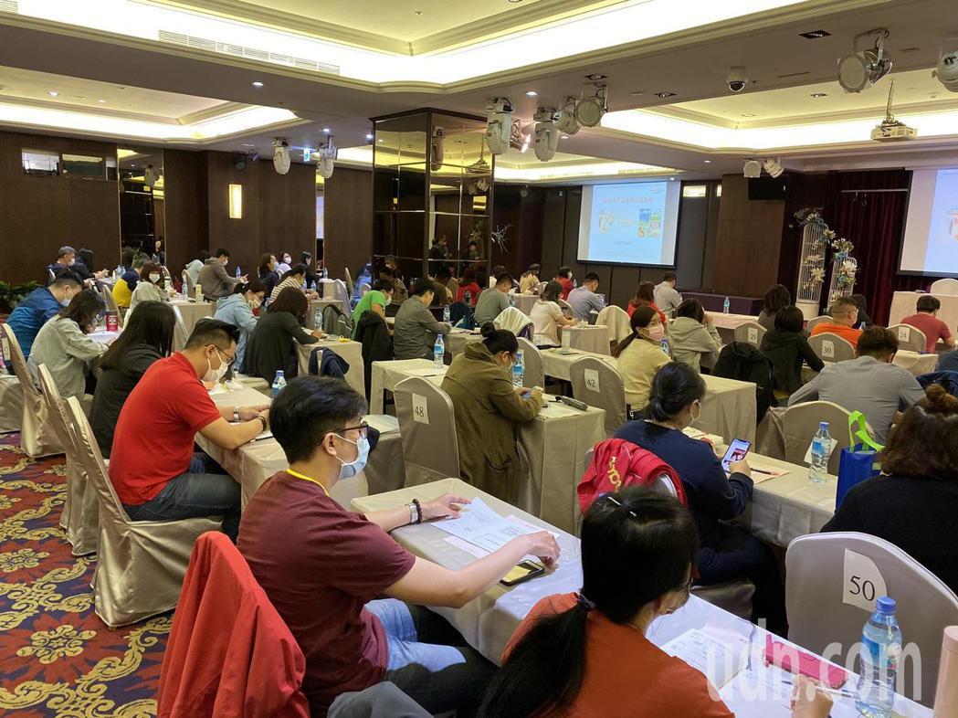 台南市旅行商業同業公會舉辦轉型培訓計畫。記者鄭維真/攝影