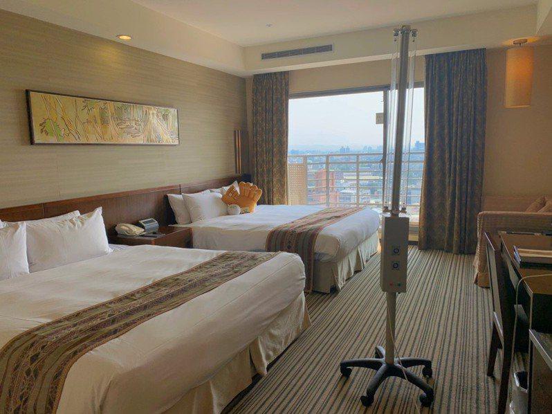 嘉義耐斯王子飯店推「說走就走」專案房型,只要2999元刺激國旅市場。圖/飯店提供