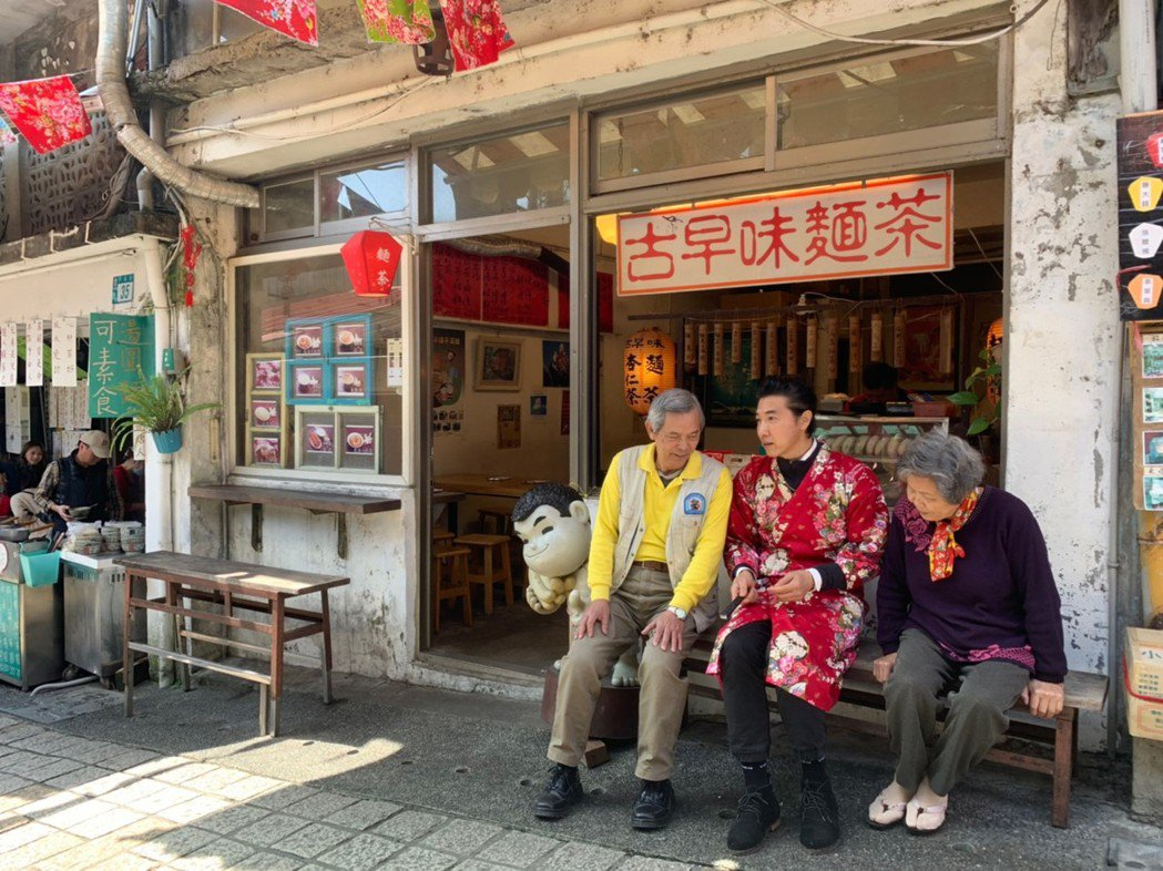 陳鴻久違出現在台灣節目中。圖/三立提供