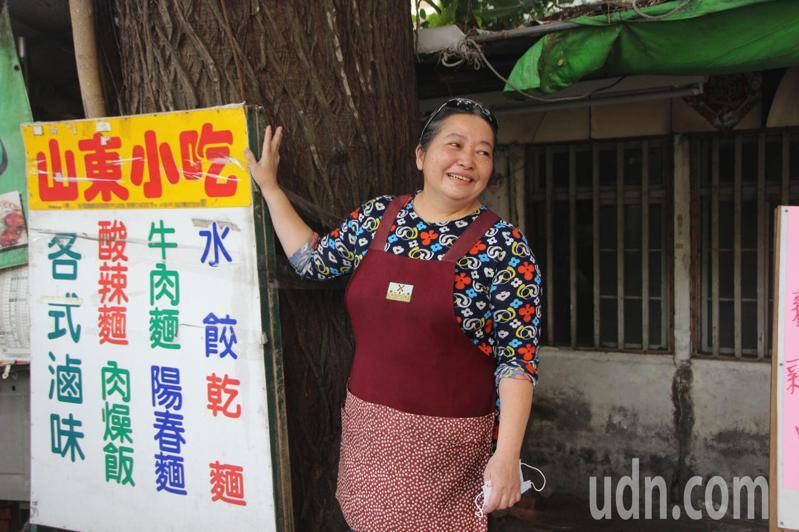 北斗鎮山東小吃賣牛熱麵38年,如今將搬遷,第二代經營者劉玉松相當不捨。記者林敬家/攝影