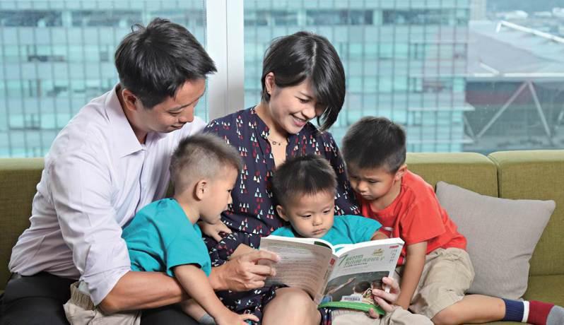 中國信託銀行發布全台家庭教育競爭力大調查,建議依循三大心法,解決子女教育金準備憂慮。中信銀行/提供