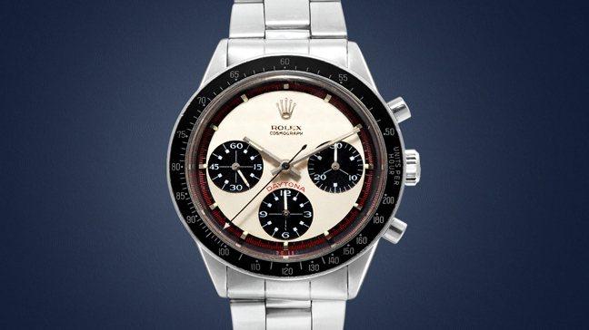 勞力士Rolex Paul Newman Daytona型號6241精鋼計時腕表...