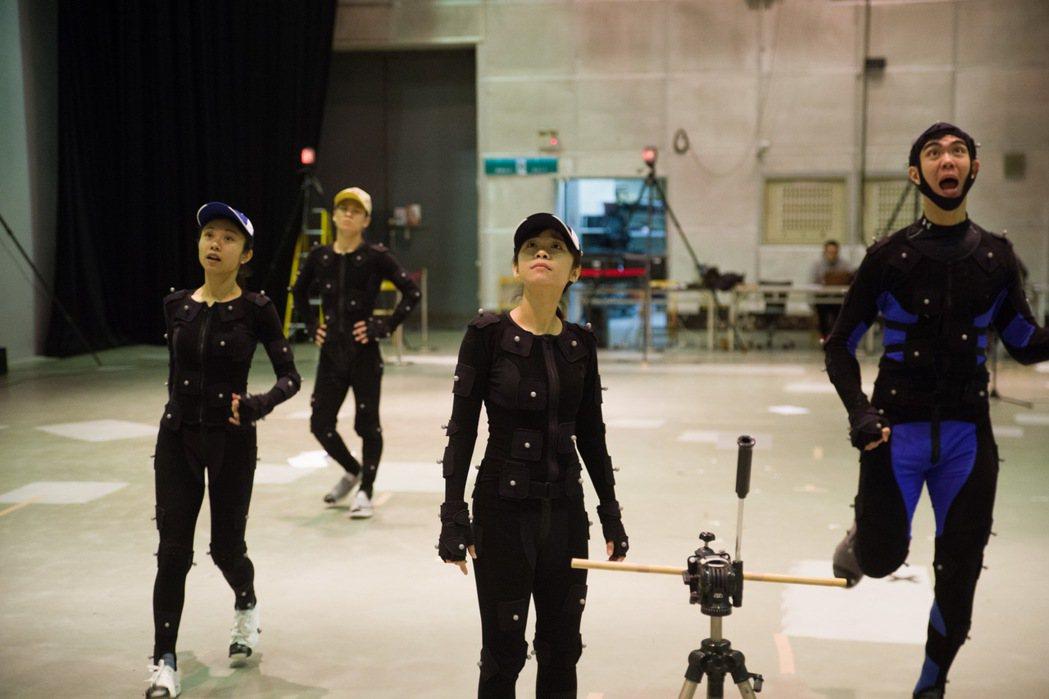 「熊星人-希堤星系迷航記」劇中的3D動畫運用了「動態捕捉」技術,透過裝設在動畫演