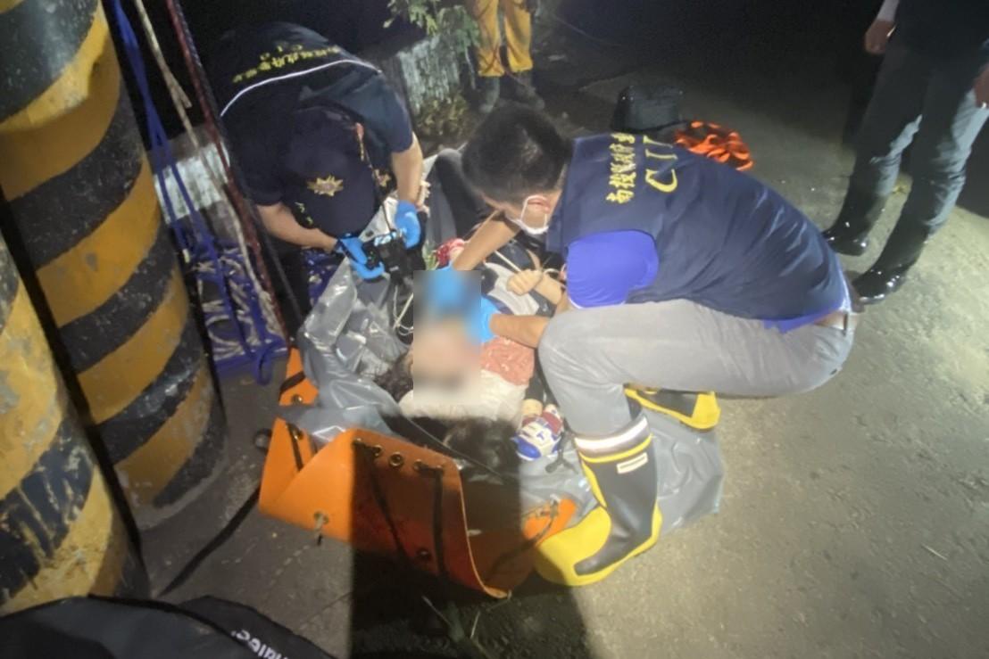 南投市東山吊橋晚間驚傳母親和2名幼子溺斃