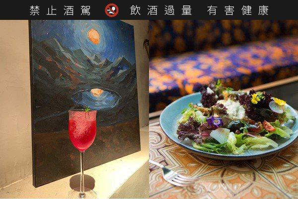 復興南路巷弄Chill餐酒館 Nul Taipei低調迷幻不失質感