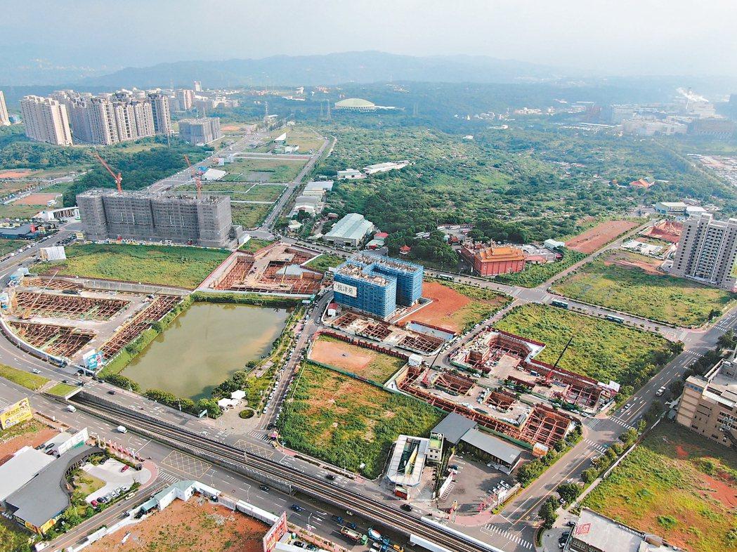 桃園市A7重劃區近年推案量大,成為區域房市亮點。