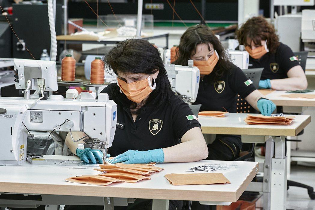 為對抗新冠肺炎疫情(Covid-19),Lamborghini現已投入醫療用口罩...