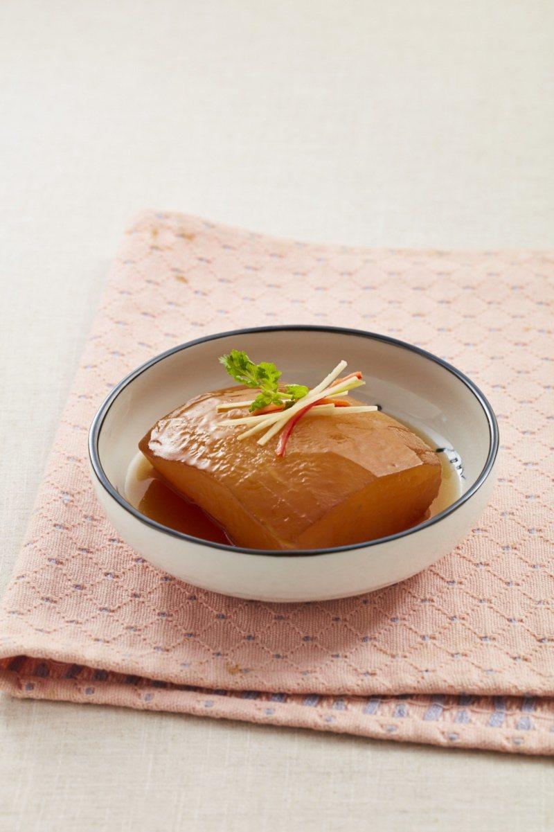 素食冬瓜封(3~4 人份)。 圖/朱雀文化提供