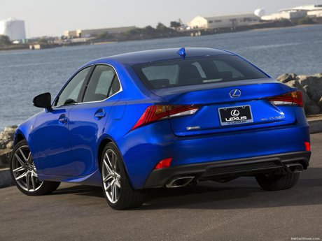 Lexus IS在10月大幅度小改後 會增添V8的IS 500車型?