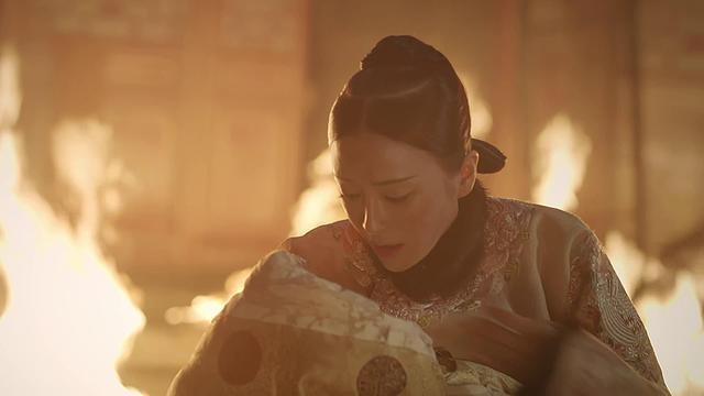 《延禧攻略》喪子的富察皇后。 圖片來源/https://itw01.com/